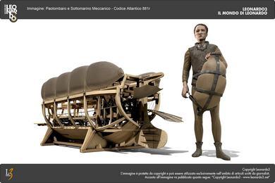 Leonardo3 – Sottomarino Meccanico 3D-1_hi