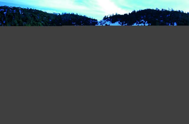 lac près d'Ifrane
