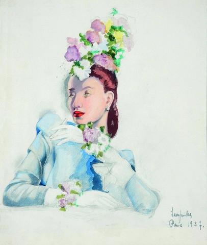15_Elégante-au-chapeau-fleuri