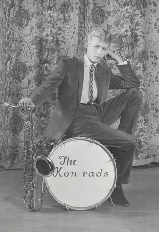 Promotional shoot for The Kon-rads, 1963. Photograph by Roy Ainsworth