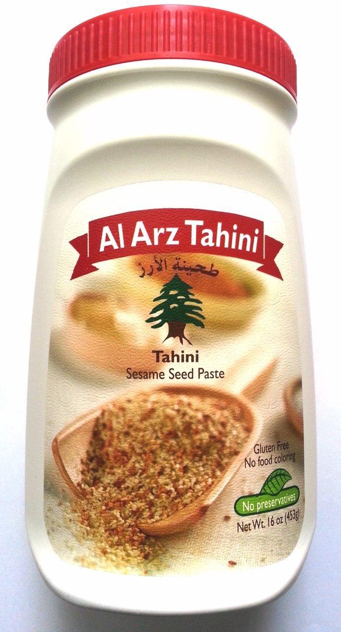 Al-Arz brand raw tahini